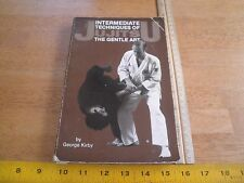 JiuJitsu Techniques Intermediate V2 book Karate 1985 martial arts 255 pgs Kirby
