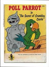"POLL PARROT GIVEAWAY [1959 GD-] 1ST ISSUE--SERIES TWO!  ""THE SECRET OF CRUM"