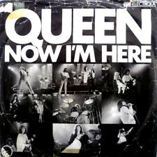"7"" 1976 GERMAN PRESS VG+ ! QUEEN : Now I´m Here"