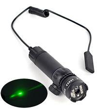 Tactical Hunting rifle Green Laser Sight Dot Scope flashlight Mount light Gun