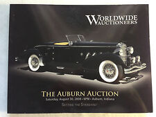 Worldwide Auction Catalog Auburn Indiana 2008 Duesenberg Rolls Royce 427 COPO