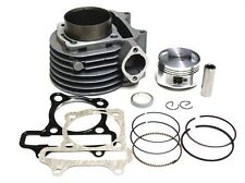 GY6 150cc Cylinder kit Engine Gasket 57.4mm Piston JCL SunL Roketa Moped Scooter