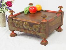 antik orient massivhloz Tisch Teetisch Hocker Mit Geheimfach table 40x40 cm 18/D