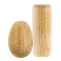 EGG-SHAKER Eierrassel Chicken Shaker Percussion Holz Rhythmus Rassel NEU