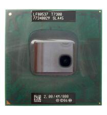 50x New Intel Core 2 DuoT7300 2 GHz Dual Core Laptop CPU Processor SLA45