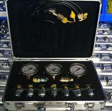 NEW HYDRAULIC PRESSURE GAUGE TESTER KIT HYDRAULIC CLUTCH FOR EXCAVATORS 231