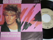 "7"" - Rod Stewart / What am i gonna do & Dancin alone - 1983 # 1007"
