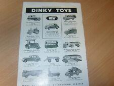 1949 Dinky Toys 40d Austin Devon saloon ORIGINAL Meccano ADVERT