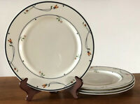 "VTG Ariana Town & Country GORHAM Dinner Plates, Set Of 4, 10.5"" Mint Condition!"