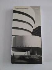 Guggenheim Museum A To Z 1992 paperback