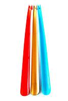 3 Stück XXL Schuhlöffel Kunststoff 60 cm | Schuhanzieher lang | Schuhanziehhilfe