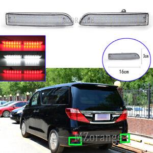 LED Rear Bumper Brake Light Stop Fog Lamp For Toyota Avensis Alphard RAV4 Estima