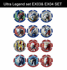 PRE Ultraman Z DX Ultra Medal Ultra Legend Set EX03 & EX04 set