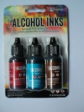 TIM HOLTZ Adirondack Alcohol Ink 3 Pk 'RODEO' BNIP **LOOK**