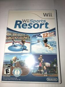 Wii Sports Resort - Nintendo Wii - Case & Manual Only