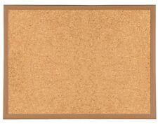 Deluxe Premium Framed Cork Notice Board 900 x 600mm Message Pin Corkboard