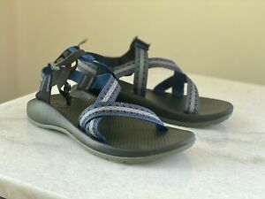 Chaco Kids Z/1 Ecothread Blue Sandals size 5