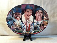 Sports Impressions Fenway Tradition Ted Williams Wade Boggs Carl Collector Plate