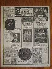 1977 Ernest Schelling Larry Lucie Dann Trio Enrico Caruso Woody Herman vtg mag