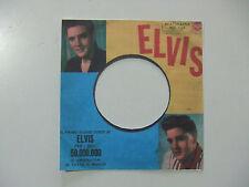 Elvis Presley – Stuck On You - Copertina Forata Stampa Non originale