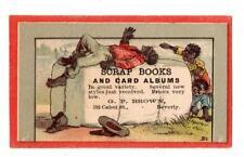 SCRAP BOOKS & CARD ALBUMS*BLACK AMERICANA*COTTON BALE*GP BROWN*BEVERLY MASS
