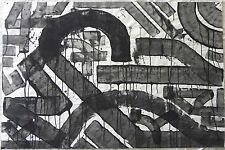 FLYCAT (Milan 1970) Graffiti Street Art LETTERA F Dipinto acrilico cm 100x150