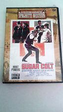 "DVD ""SUGAR COLT"" SPAGHETTI WESTERN FRANCO GIRALDI HUNT POWERS PRECINTADO"