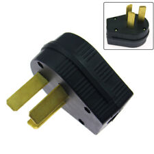 New 3 Prong Plug 50 Amp 220V Plug Replacement For Electrical RV Welder 2.95inch