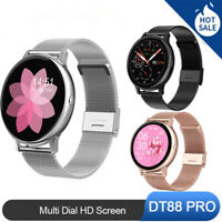 DT88 PRO Smart Watch IP68 Waterproof HD ECG Heart Rate Monitor for IOS Android