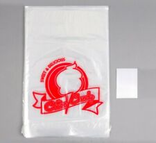 """25 Printed Clear Cotton Candy Bags & Twist Ties, 11-1/2"""" x 18"""", Free Shipping"""