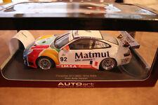 AUTOART PORSCHE 911 996 GT3 RSR MATMUT UMBAU OVP  1:18