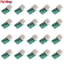 20pcs DC-DC USB Step Up Boost Module 0.9V-5V to 5V 600mA Voltage Regulator