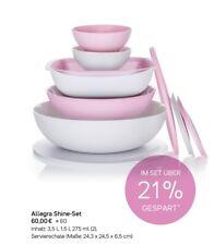 Tupperware Allegra Shine-Set NEU - JETZT VORBESTELLEN