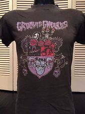 Groovie Ghoulies Tour Shirt Sz S Zero's Ratt Rock Love Hate Metal Poison Crue
