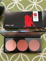 Betty Boop X Ipsy Cheek to Cheek Blush Palette 3 Shades Full Size - NEW in Box