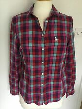 Jack Wills Ladies Long Sleeve Check Shirt Size 8. Great Condition.