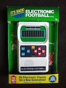 Brand New Sealed Mattel Classic Football Electronic Hand Held Old School