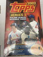 2002 Topps Baseball Hobby Box Series 1 - Sealed