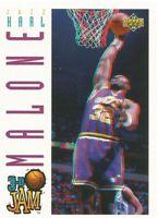 Karl Malone Upper Deck Pro View 3D Jam 1993-94 Basketball Card #94