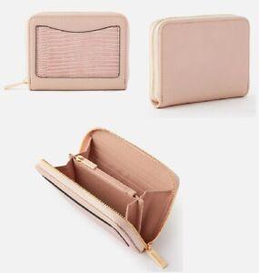 Monsoon Accessorize Card pocket wallet pink purse wallet elegant pink