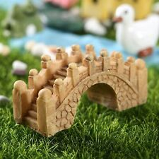 Garden Ornament Miniature Landscape Bridge Fairy Dollhouse Lawn DIY Craft Decor