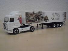 """Herpa - Scania 143 Koffer-Sattelzug """"125 years"""" - Nr. 306447 - 1:87"""