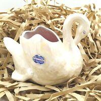 Mid Century Hollyware Art Ceramics Swan by Sullivan and Griffiths Australian