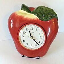Vintage Mackintosh Apple Kitchen Decorative Analog Display Wall Clock