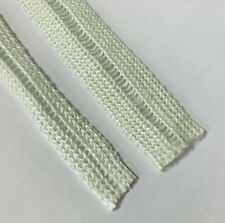 40mm x 3mm Ladder Rope Flat Stove Wide Stove Glass white