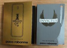 Paco Rabanne 2 Pcs Samples Set 1 Million & Invictus 2 x 0.05 oz / 1.5 ml EDT Spr