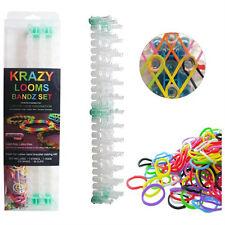 Krazy Loom Bandz Bracelet Making Kit Set Yellow - 3,000 bands - Gift Set