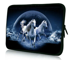 "10"" 10.1"" Horse Neoprene Sleeve Bag Case Pouch For Netbook Laptop Tablet iPad PC"