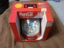 1998 Coca cola Polar Bear Fun Bank New in box