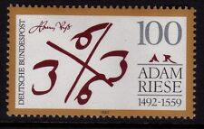 Germany 1992  500th Anniversary of  Birth of Adam Riese, Mamatician SG 2459 MNH